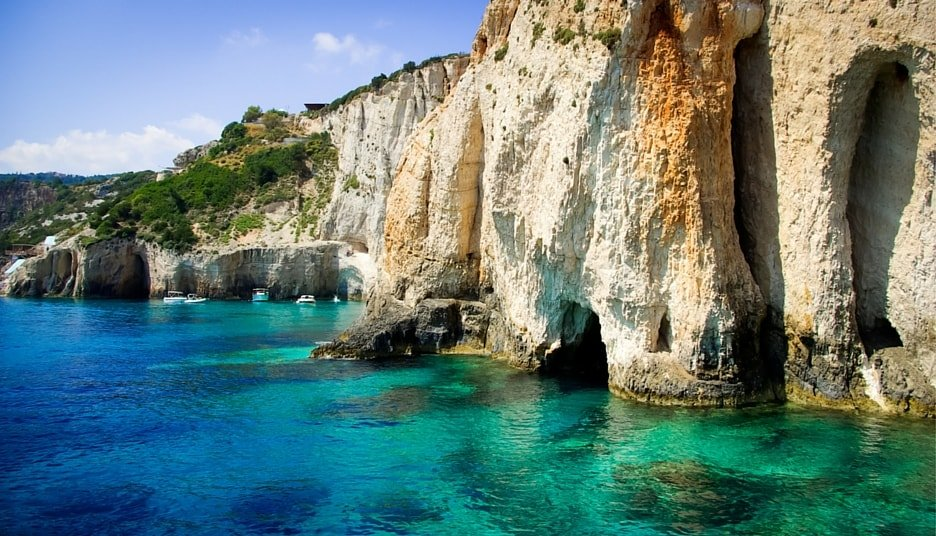 greece-yacht-rentals-ionian-islands-sailing-itinerary-1-week-7-days-route