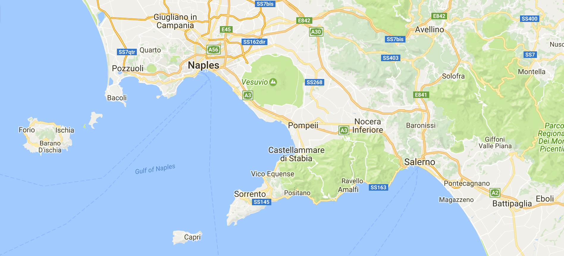 Weather Map and Things to Do Sailing in Amalfi Coast Italy