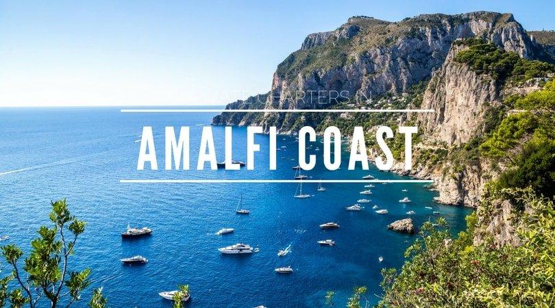 amalfi coast yacht charter amalfi motor boat catamaran rental