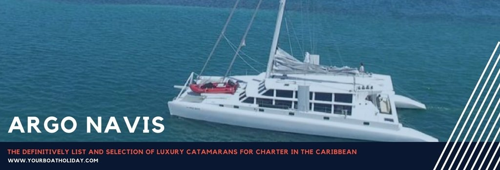 List and Selection of Luxury Catamarans for Charter in the